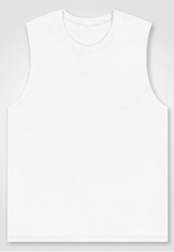 BWET Swimwear white White Beach Tank Top Brighton by BWET Swimwear A576BAA6F43F31GS_1