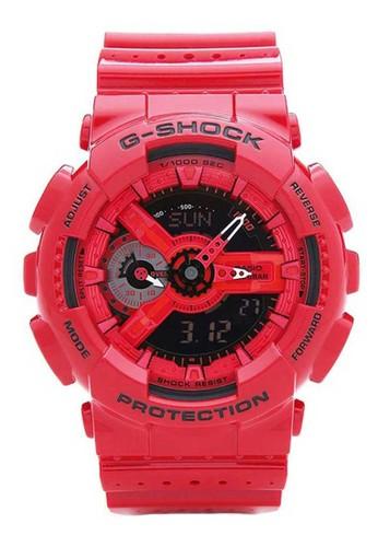 G-Shock red Casio G-SHOCK Jam Tangan Pria - Red - Resin - GA-110LPA-4ADR B5CFBACE92F2FAGS_1