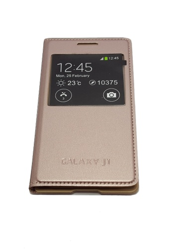 new style 73004 d4794 S-View Flip Cover for Samsung Galaxy J1