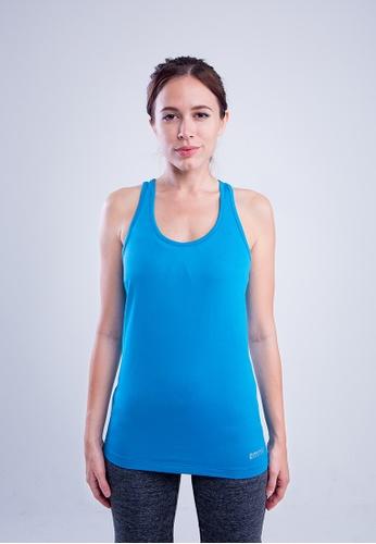 AMNIG 藍色 Amnig Women Flex V-Back Tank Top 4AFE6AA332D06DGS_1