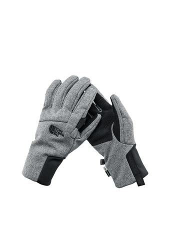 9a0d4eaf9 The North Face Men Apex +Etip Glove Grey Windproof Glove