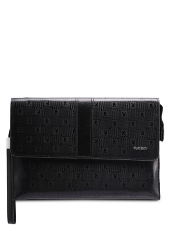 Playboy black Playboy Clutch Bag 31186ACE5B91BDGS_1