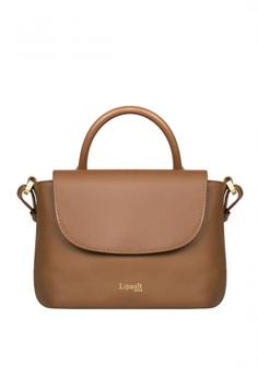 7420b20d8ab8 Lipault brown Plume Elegance Mini Handle Bag 960F7ACB5218D5GS_1