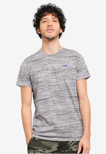 Hollister grey Core Icon Crew Neck T-Shirt HO422AA0T1BPMY_1