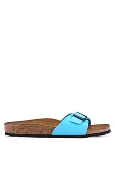 586e84b7c13b Birkenstock blue Madrid Patent Sandals 12BC4SH5779DC9GS 1