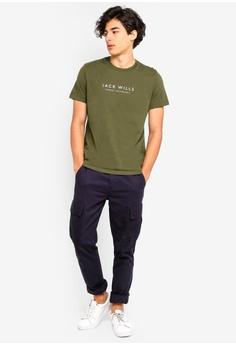 4cfac9cd79e Jack Wills Westmore Graphic T-Shirt S  61.90. Sizes M L. Jack Wills navy Ezra  Stripe Retro ...