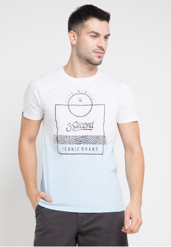 3SECOND white Men Tshirt 2612 3S395AA0VN55ID_1