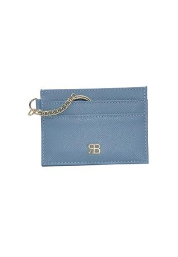 Bethany Roma blue Bethany Roma Card Holder Key Chain - Blue 85285ACFA90449GS_1