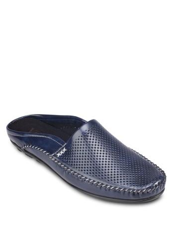esprit outlet 台灣Italy 系列沖孔懶人拖鞋, 鞋, 懶人鞋