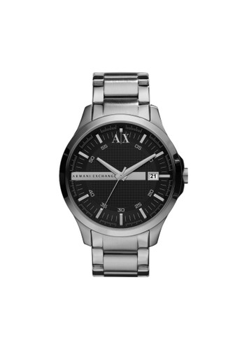 Hamptoesprit outlet 旺角n簡約風格鋼帶腕錶 AX2103, 錶類, 紳士錶