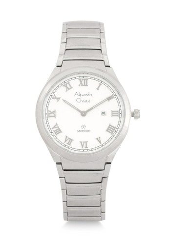 Alexandre Christie silver Alexandre Christie Jam Tangan Wanita - Silver White - Stainless Steel - 8538 LDBSSSL  7A391ACD30F802GS_1