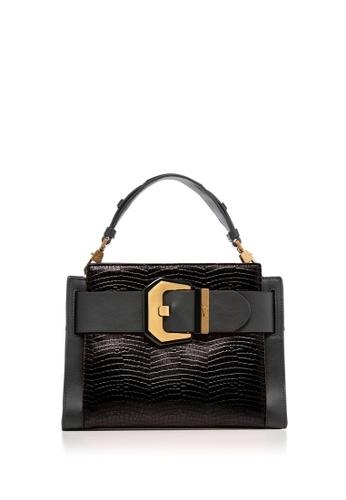 Braun Buffel black Farrah Top Handle Bag 75C4BAC84A9BAFGS_1