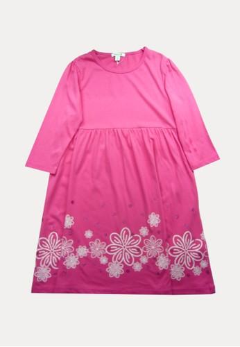 Bossini pink Bossini Kids Girl Dress Bt Fuchsia (74360301039) CBCE8KA42BDE75GS_1