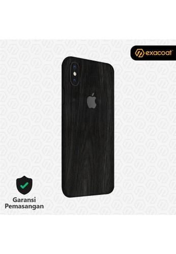 Exacoat iPhone X 3M Skins Wood Ebony - Cut Only 5BF7BES76185FEGS_1