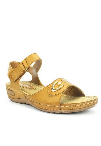 Mario D' boro Runway beige LS 89623A-Beige  Casual Sandals 5EA7DSHBEB7962GS_1