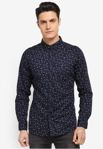 Cotton On navy Brunswick Shirt 9B26EAA903D912GS_1