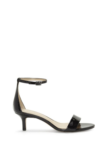 Enzo Angiolini black EN-KAILEE Ankle Strap Patent Sandals B2EBDSHF6D1A85GS_1