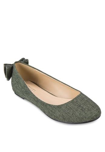 蝴蝶結平底鞋, 女鞋, 芭zalora 評價蕾平底鞋