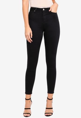 Miss Selfridge black Lizzie High Waist Skinny Fit Black Jeans  8C925AA802B289GS 1 2077720b6