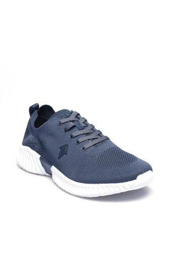 ONE UP blue and navy Elysium Young Kid's Sneakers Shoes 7FC59KS9161027GS_1