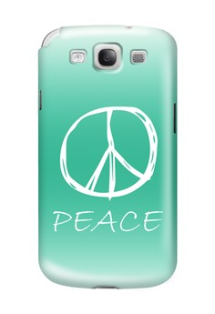 Peace Sign Hard Case for Samsung Galaxy S3