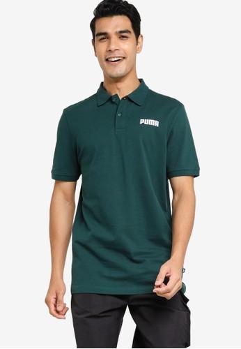 PUMA green Essentials Piqué Men's Polo Shirt 6053DAA6D52C84GS_1