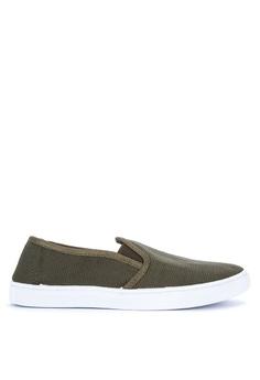 Crissa green Serah Sneakers 539C4SHB09C6D2GS_1