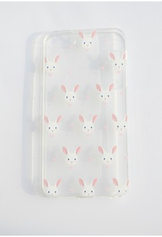 Bunnies Soft Transparent Case for iPhone 5/5s/SE