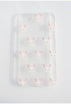 Bunnies Soft Transparent Case for iPhone 5/5s/SE