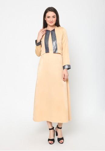 Agatha beige Zara Cream Long Dress 4D9B1AA23217FAGS 1 947df92a69
