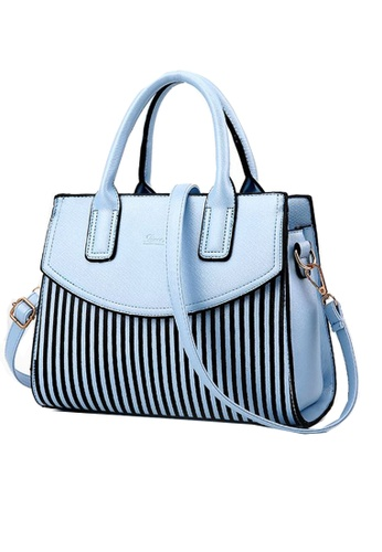 TCWK blue Ladies Shoulder Bag TC258AC01WRQMY_1