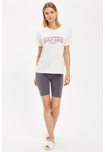 DeFacto grey Woman 2-pieces Homewear Top & Bottom Set 3644FAAB283ACDGS_1