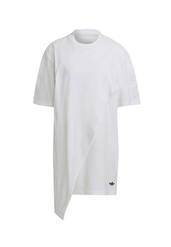 ADIDAS 白色 tee dress 627EAAACF7422CGS_1