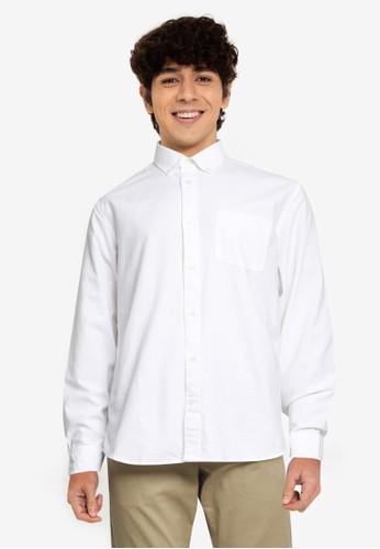 Gap white Standard Fit Oxford Shirt 20F2EAA16D3954GS_1
