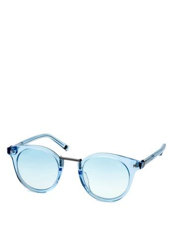 HEX EYEWEAR blue Politician - Henry S. - Sunglasses - Italy Design HE671AC2V1L8HK_1