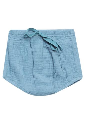 RAISING LITTLE blue Jules Linen Bloomers 226ABKA67F8F8CGS_1