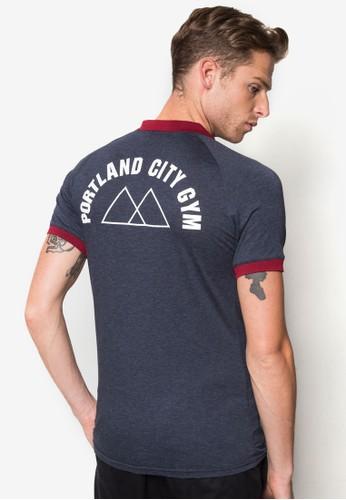『Portland City Gym』撞色 Polo 衫, 服飾, esprit 評價Polo衫