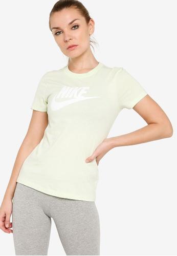 Nike green Women's Essential Short Sleeves T-Shirt 6D2BAAAB61933DGS_1