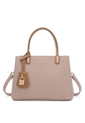 Swiss Polo brown Ladies Top Handle Sling Bag 0A16EAC848DE80GS_1
