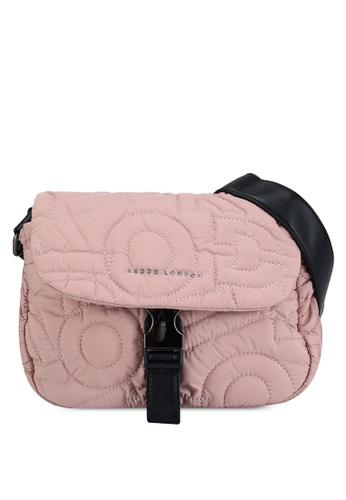 Keddo pink Emery Sling Bag 719B5ACEC8DD39GS_1