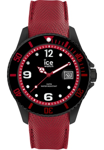 Ice-Watch red ICE steel - Black red - Large - 3H 649C0AC374811AGS_1