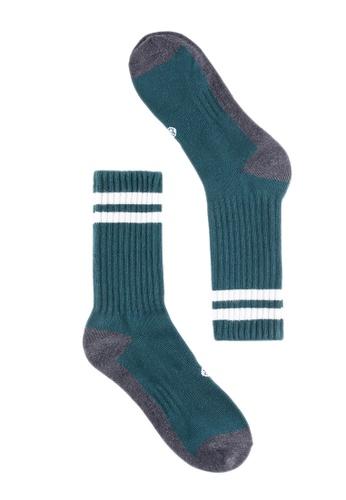 Life8 green Men & women casual socks-05293-Green LI248AC2VM72HK_1
