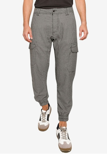 Cotton On 黑色 and 白色 Urban Joggers B290FAA91071E9GS_1