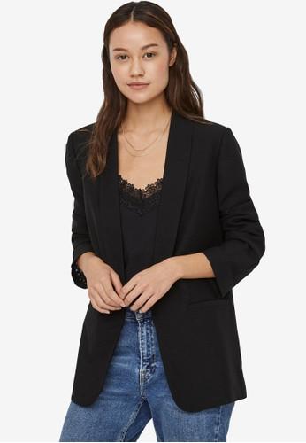 Vero Moda black Open Blazer A1189AAD1B9FABGS_1