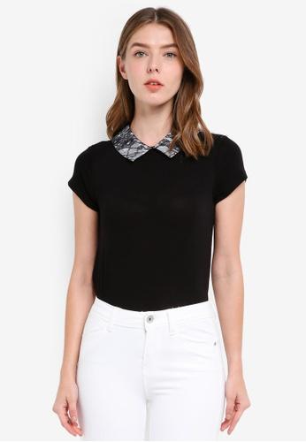 OVS black Women's T-Shirt 96994AAFC706B8GS_1