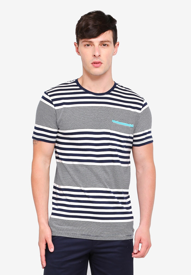 Short Sleeve Navy T ESPRIT Shirt BxFRBXqwr