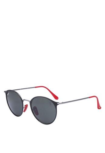 04d1dba143 Ray-Ban black Ray-Ban Scuderia Ferrari Collection RB3602M Sunglasses  74529GLF04A8E5GS_1