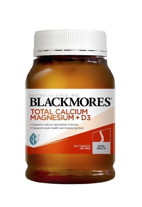 BLACKMORES Blackmores - 健骨鈣鎂+維他命D3 (200粒)
