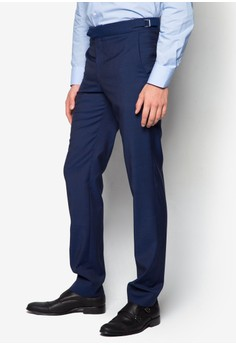 Slim-Fit Wool Suit Trousers