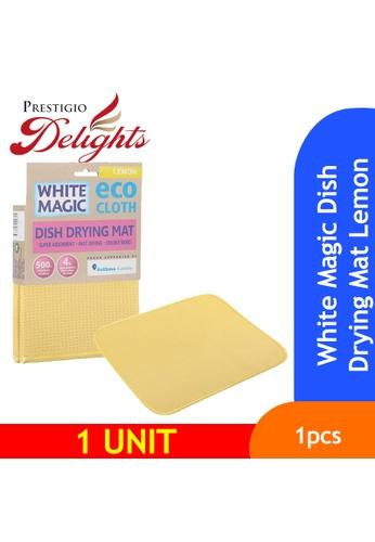 Prestigio Delights White Magic Dish Drying Mat Lemon 1CE8AES48D5C30GS_1